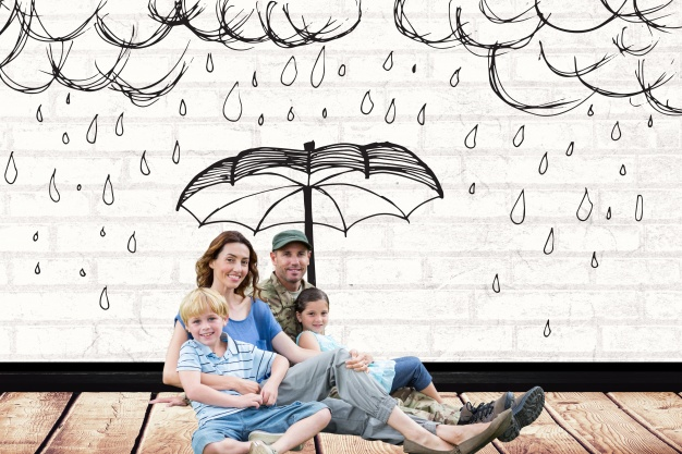 family with drawing rain them 1134 499